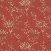 Moda French General Favorites - Bolt 4982 - Beige Floral on Red - Moda No. 13527 32 - Cotton Fabric